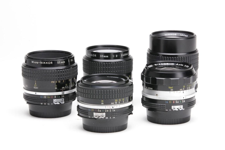 Lens 35mm Nikkor 35mm f2 Lens