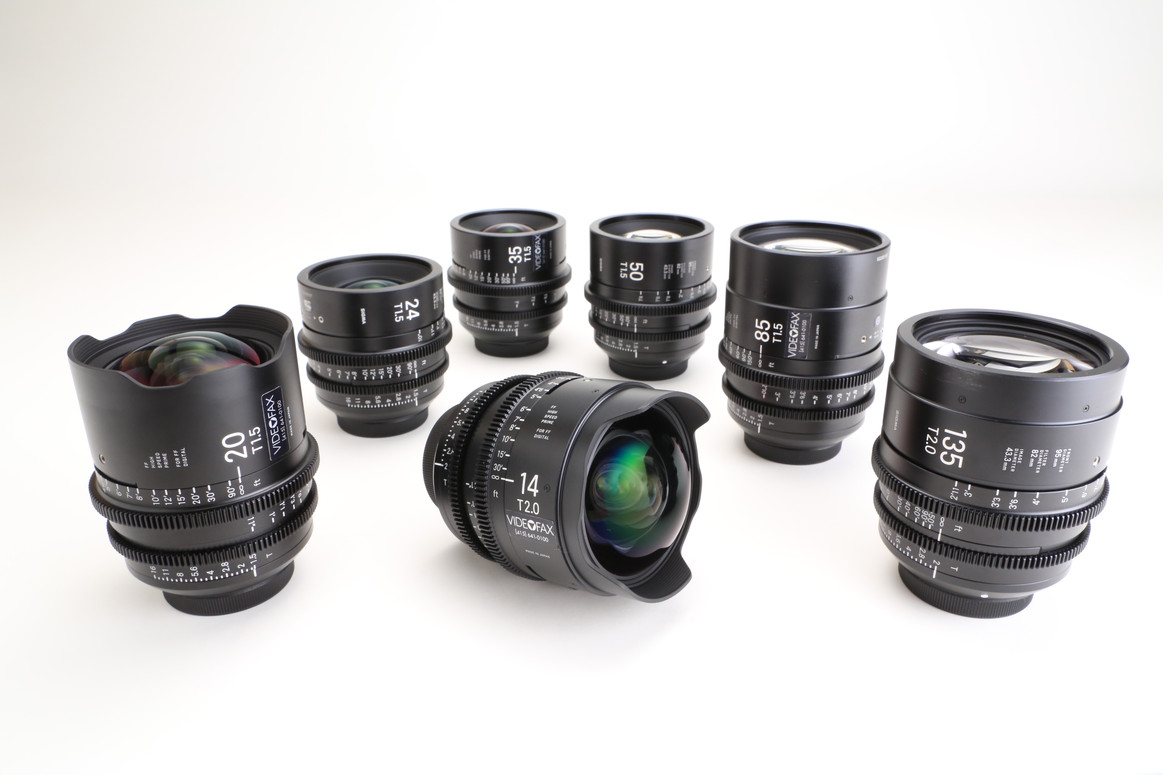 EF and E Mount Cine Lenses (Videofax | Motion Picture and Digital